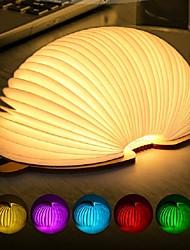 Недорогие -1шт Книга LED Night Light Мультипликация / Меняет цвета / Креатив 5 V