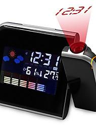 Недорогие -проекция светодиодный будильник цифровая дата функция повтора подсветка поворотный проснуться