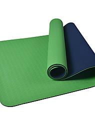 Недорогие -Коврик для йоги Мягкость, Эластичный, Липкий, Складной TPE Для Армейскийзеленый, Фиолетовый