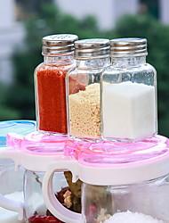 Недорогие -Высокое качество с Стекло Бутылки и емкости для хранения Повседневное использование Кухня Место хранения 5 pcs