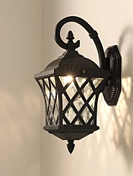 baratos -QIHengZhaoMing LED / Contemporâneo Moderno Lâmpadas de Parede de Exterior Lojas / Cafés / Escritório Metal Luz de parede 110-120V / 220-240V 5 W