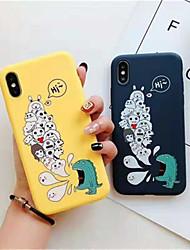 economico -Custodia Per Apple iPhone X / iPhone XS Max Effetto ghiaccio Per retro Cartoni animati Morbido TPU per iPhone XS / iPhone XR / iPhone XS Max
