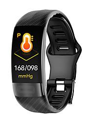 Недорогие -p11 Универсальные Умный браслет Android iOS Bluetooth Водонепроницаемый Сенсорный экран Пульсомер Измерение кровяного давления Спорт ЭКГ + PPG
