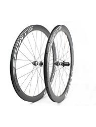 Недорогие -FARSPORTS 700CC Колесные пары Велоспорт 26 mm Шоссейный велосипед Углеродное волокно Подходит для клинчерной покрышки / бескамерной шины 24/24 Спицы 50 mm / 45 mm