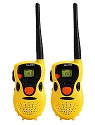 Недорогие -T-388 Для ношения в руке подсветка 3 - 5 км 3 - 5 км Walkie Talkie Двухстороннее радио