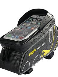 Недорогие -Сотовый телефон сумка Бардачок на раму 6 дюймовый Водонепроницаемость Велоспорт для Велосипедный спорт Красный Темно-серый Рыжий На открытом воздухе Велосипедный спорт / Велоспорт Велоспорт