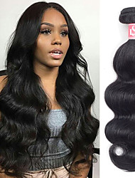 cheap -6 Bundles Brazilian Hair Body Wave Remy Human Hair Natural Color Hair Weaves / Hair Bulk Bundle Hair One Pack Solution 8-28inch Natural Color Human Hair Weaves Newborn Waterfall Cute Human Hair