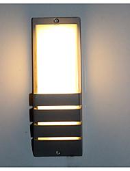 رخيصةأون -ضد الماء / بدون لمعة بسيط / الحديث المعاصر إضاءة الحمام / أضواء الجدار في الهواء الطلق دورة المياه / الخارج معدن إضاءة الحائط IP67 110-120V / 220-240V 5 W
