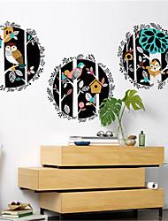 povoljno -književna osobnost ručno oslikane dekoracije životinja šumski zid naljepnice kreativni dnevni boravak spavaća soba hodnik kauč pozadina naljepnice