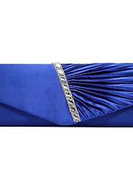 Недорогие -Жен. Кристаллы Полиэстер Вечерняя сумочка Хрустальные сумочки из хрусталя Темно-синий / Лиловый / Миндальный / Наступила зима