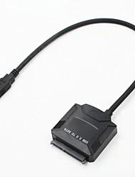 Недорогие -LITBest USB 3.0 в SATA 3.0 Внешний жесткий диск адаптер конвертер Автоматическое конфигурирование / Защита от пыли / с внешним адаптером переменного тока в комплекте A02