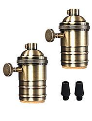 Недорогие -oylyw 2шт E26 / E27 100-240 В аксессуар для лампочки из алюминия