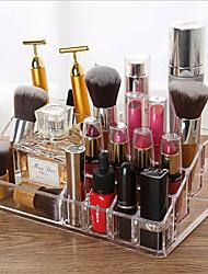 billige -opbevaring organisation kosmetisk makeup arrangør plast uregelmæssig form afdækket / flerlags