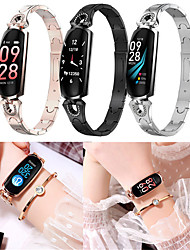 Недорогие -Indear AK16 Женский Умный браслет Android iOS Bluetooth Smart Спорт Водонепроницаемый Пульсомер Измерение кровяного давления / Датчик для отслеживания активности / Датчик для отслеживания сна