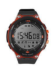 Недорогие -D-watch01D Универсальные Смарт Часы Android iOS Bluetooth Водонепроницаемый Спорт Smart Информация Контроль сообщений Таймер Секундомер Педометр Напоминание о звонке Датчик для отслеживания сна