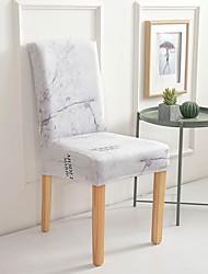 Недорогие -Накидка на стул Современный стиль С принтом Полиэстер Чехол с функцией перевода в режим сна