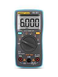 halpa -zt101 zt102 digitaalinen automaattinen kantamittari 6000 laskee taustavalon AC / dc-ampeerimittarin volttimittarin ohm kannettavan mittarin jännitemittarin