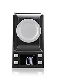 Недорогие -50g/0.001g Высокое разрешение Портативные ЖК дисплей Цифровые ювелирные шкалы Для офиса и преподавания  Семейная жизнь Кухня ежедневно