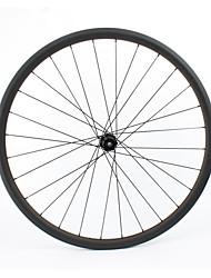 Недорогие -FARSPORTS 700CC Колесные пары Велоспорт 25 mm Шоссейный велосипед 100% углеволокно / Полный углерод Бескамерная шина 24/24 Спицы Прочее