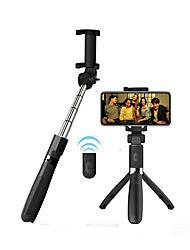 Недорогие -APEXEL Палка для селфи Bluetooth С возможностью удлинения Максимальная длина 70 cm Назначение универсальный Android / iOS Универсальный