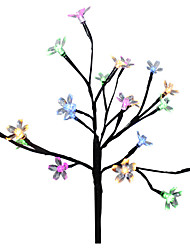 Недорогие -новинка освещение солнечная энергия цветок вишни светодиодный свет сад двор газон пейзаж лампа декоративное освещение