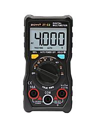 baratos -temperatura multímetro digital auto-variando true-rms inteligente ncv 4000 contagens ac / dc tensão atual 40m ohm zt-c2