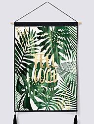 Недорогие -Цветы Декор стены Полиэстер Современный Предметы искусства, Стена Гобелены Украшение
