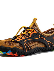 Недорогие -Муж. Комфортная обувь Сетка Лето / Весна лето Спортивные Спортивная обувь Для плавания / Дышащая спортивная обувь Дышащий Черный / Военно-зеленный / Желтый / Нескользкий