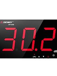 voordelige -Sw-525b digitale geluidsniveaumeter 30 ~ 130db 3.0 inch grote scherm bar / kantoor / thuis muur opknoping geluidsmeter sndway sw-525b