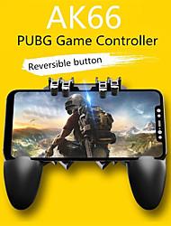 Недорогие -Геймпады ak66 шесть пальцев все-в-одном мобильном телефоне игровой контроллер бесплатная кнопка ключа огня джойстик геймпад l1 r1 триггер для паб