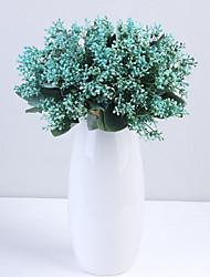 abordables -Fleurs artificielles 7 Une succursale Classique Européen Style Simple Gypsophila Fleurs éternelles Fleur de Table