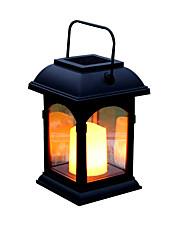 preiswerte -1pc 0.2 W Leuchte für Rasenplatz / LED-Straßenleuchte Solar Gelb 1.2 V Außenbeleuchtung / Schwimmbad / Hof LED-Perlen