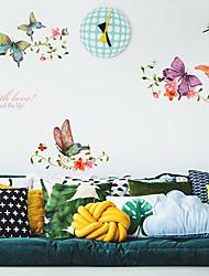 povoljno -Dekorativne zidne naljepnice - Zidne naljepnice Sažetak Spavaća soba / Study Room / Office