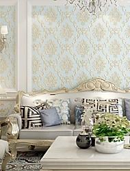 رخيصةأون -ورق الجدران محبوكة تغليف الجدران - لاصق ذاتي لون سادة