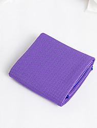 Недорогие -Охлаждающие полотенца Ультралегкий (UL) Полиэфирное микроволокно для Йога 30*100 cm Розовый Фиолетовый Синий / белый