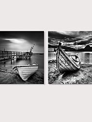 preiswerte -Druck Aufgespannte Leinwandrucke - Landschaft Photografisch Modern