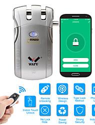 Недорогие -wafu wi-fi пульт дистанционного управления смарт-приложение невидимой безопасности дверной замок (система ios / android) противоугонный дверной замок для домашнего офиса отеля с 433 МГц (wf-010w)