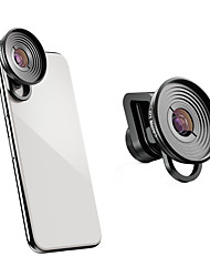 Недорогие -Объектив для мобильного телефона стекло / Алюминиевый сплав Макрос 10X 80 ° Новый дизайн / Веселая