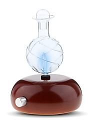 Недорогие -распылитель аромата ароматический эфир эфирное масло распылитель для ароматерапии распылитель для дерева и стекла 7 светодиодные фонари с изменением цвета - нет тепла, нет воды, нет пластика