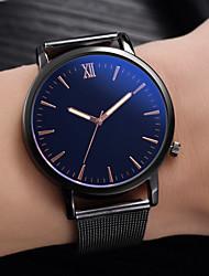 Недорогие -Муж. Нарядные часы Кварцевый Черный Нет Повседневные часы Cool Аналоговый На каждый день Мода - Белый Черный Синий Один год Срок службы батареи