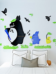 billige -Dekorative Mur Klistermærker - Fly vægklistermærker Former Innendørs