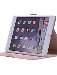 voordelige -DG.MING hoesje Voor Apple iPad mini 5 / iPad mini 4 / iPad Mini 3/2/1 360° rotatie / Schokbestendig / met standaard Volledig hoesje Effen Zacht PU-nahka voor iPad Mini 5 / iPad Mini 3/2/1 / iPad Mini