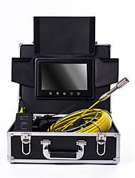 hesapli -23mm lens endüstriyel endoskop 40 m çalışma uzunluğu 9 inç ekran araba tamir muayene boru hattı tamir