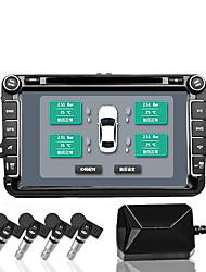 Недорогие -система контроля давления в шинах автомобиля tpms android-навигация давление в шинах беспроводной монитор встроенный детектор давления в шинах