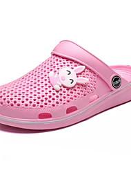 billige -Drenge / Pige Sko EVA / PU Sommer Komfort Sandaler for Børn / Teenager Rosa / Lys pink / Marineblå