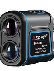 ieftine -sndway sw-1500a telescop monocular telemetru laser 1500m trena laser distanta metru laser de vanatoare de golf