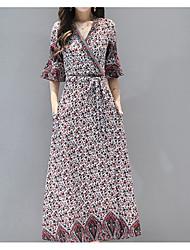 levne -dámské koleno swing šaty navy blue béžové s m l xl