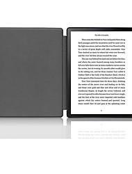 Недорогие -Кейс для Назначение Amazon Kindle Lite (2019) / Kindle PaperWhite 4 / Кобо Форма Защита от удара / Флип / Оригами Чехол Однотонный Твердый Кожа PU
