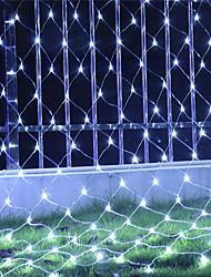 preiswerte -6 * 4m lichterkette 800 leds rgb weiß blau wasserdicht kreative partei 220-240 v 1 satz