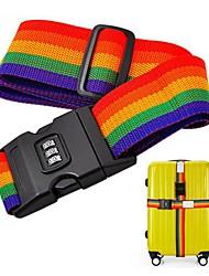 Недорогие -Дорожная сумка / Багажный ремешок для путешествий / Пряжка ремня безопасности Регулируется / Прочный Нейлон 200*5 cm
